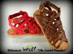 So What Leather Sandals
