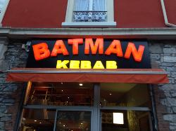 Bat.Man Sandwichs kebab