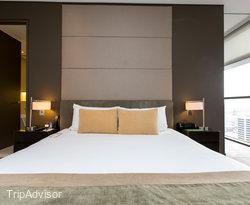 The One Bedroom Premier Suite at the Fraser Suites Sydney