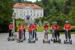 Exploring Ljubljana by Segway