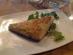 Corn bread (toasted)