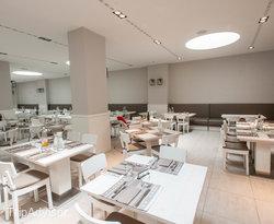 Biancosale Restaurant at the Europa Monetti