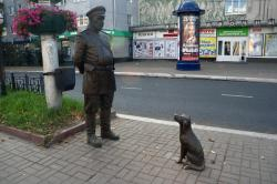 Sculpture of the Policeman