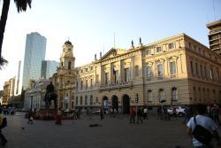 Edificio de la Municipalidad de Santiago