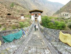 Tachogang Lhakhang Bridge