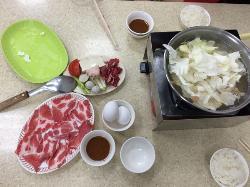 Sing Da Satay Pork & Beef Hot Pot