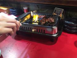 Yakiniku (Grilled meat) Kan Baribari Sennichimae