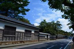 松江城下町