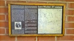 Lace Market information board