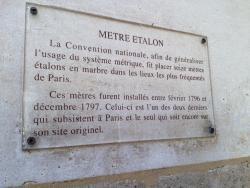 Mètre Étalon