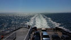 Beautiful Day for a ferry crossing
