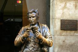 Monument to Leopold von Sacher-Masoch