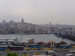 Vista para Eminonu e Torre de Galata