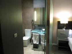 quarto do hotel (WC)