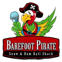 Barefoot Pirate Snow & Rum Ball Shack