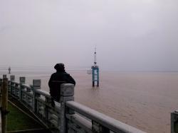 Yanguan Tidal Wave Watching
