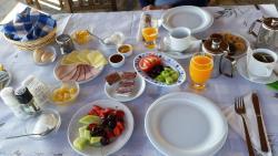 het lekker uitgebreide ontbijt
