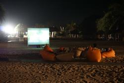 Movies by the beach
