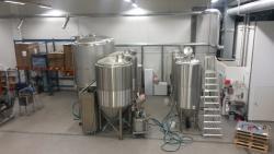 Rekola Brewery tanks / Rekolan Panimo