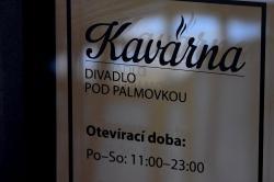 Coffe Bar in the Divadlo pod Palmovkou