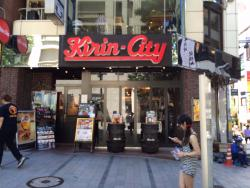 Kirin City Shinjuku-East entrance