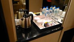 Breakfast and my room