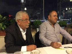 A tavola con Hamdi , il proprietario!