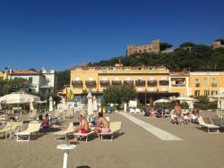 Fantastic location on the beach