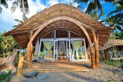 coconut garden beach resort bungalows