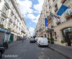 Street at the Hotel Aida Marais