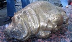 Monument Hippopotamus