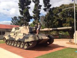 Woodford Leopard Tank