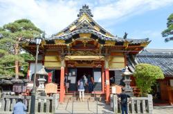 Zenkoji Sesonin Shakado Temple