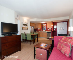 The Two Bedroom Suite at the Residence Inn Fort Myers Sanibel