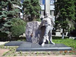 Monument to Yuri Hervieu