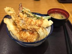 Tempura bowl Tenya Kawagoe