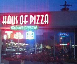 Doria's Haus of Pizza