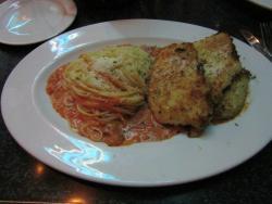 Cap City Diner Romano Crusted Chicken