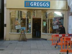 Greggs Exeter