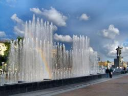 Fountain at Lenin Square