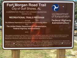 Fort Morgan Road Trail