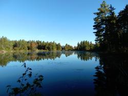 Far end of the lake