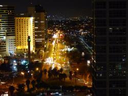 Nighttime view of Tel Aviv Room #1704