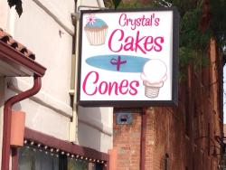 ‪Crystal's Cakes and Cones‬