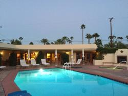 Front pool, looking at suites 3 & 4