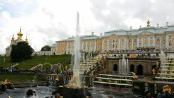 Paleizencomplex in Peterhof