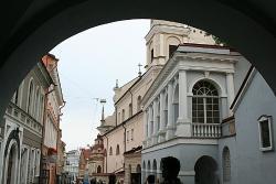 Историческая часть города Вильнюса