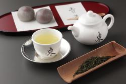 煎茶セット(和菓子付)890円