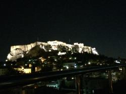 acropolis from the roof