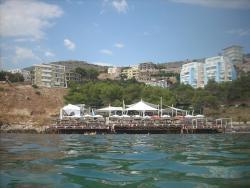 Santa Quaranta beach
